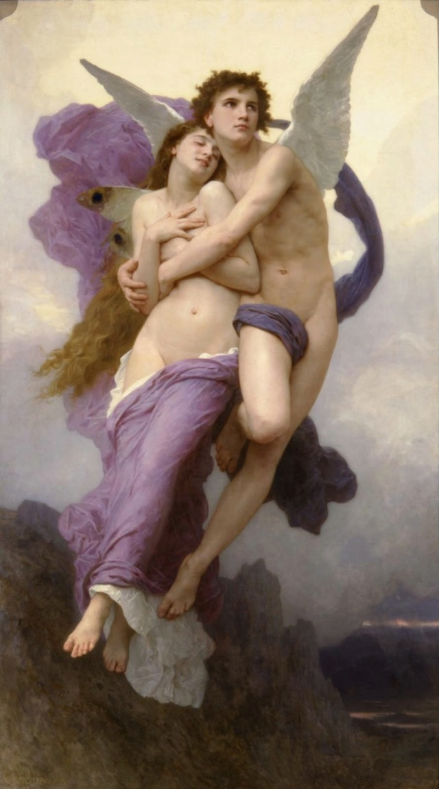 El rapto de Psique. William-Adolphe Bouguereau Eros_y10