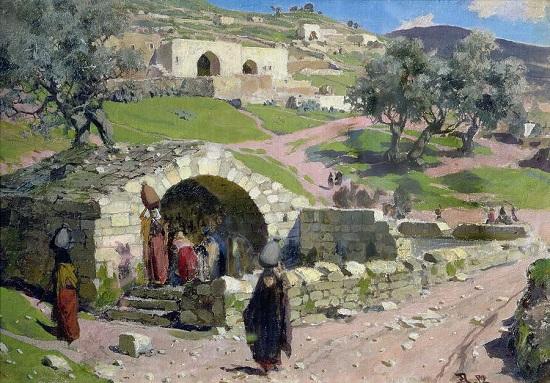 La Virgen de la Primavera en Nazaret-Vasilij F2732f10