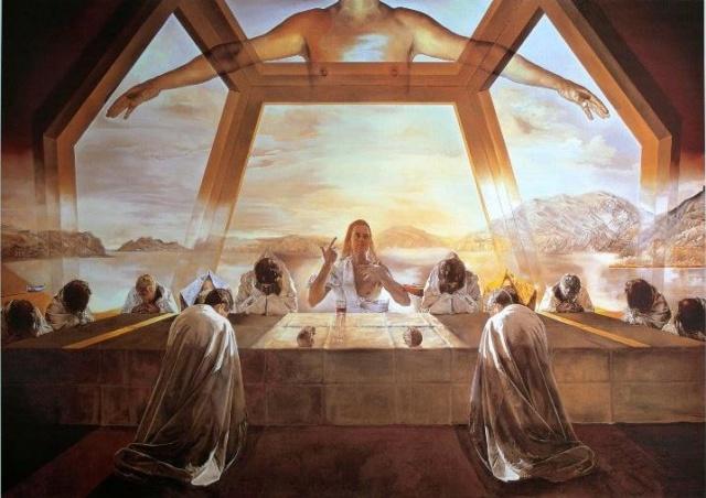 La Última Cena -Salvador Dalí Figura10