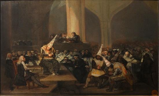 Auto de fe de la Inquisición-Goya Franci10