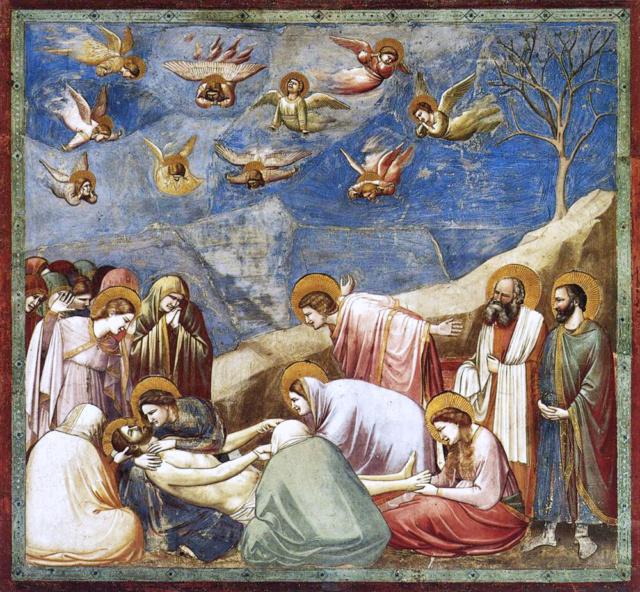 Lamentación sobre el Cristo Muerto-Giotto Giotto10