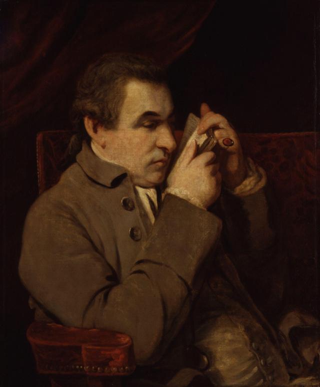 Sir Joshua Reynolds-Giuseppe Baretti Giusep10