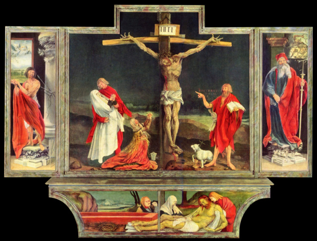 La crucifixión-Matthias Grünewald Grunew10