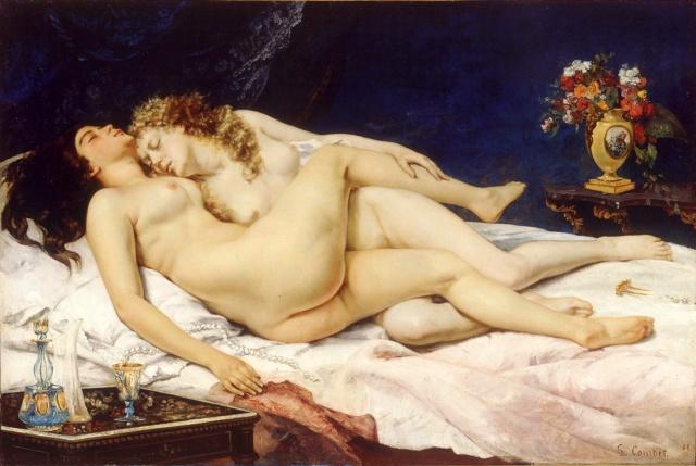 El sueño-Courbet Gustav10
