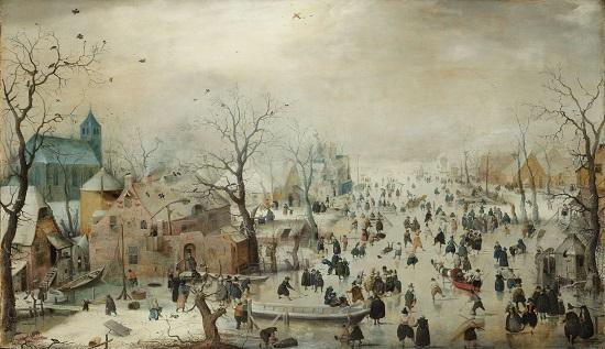 Paisaje invernal- Avercamp Hendri10