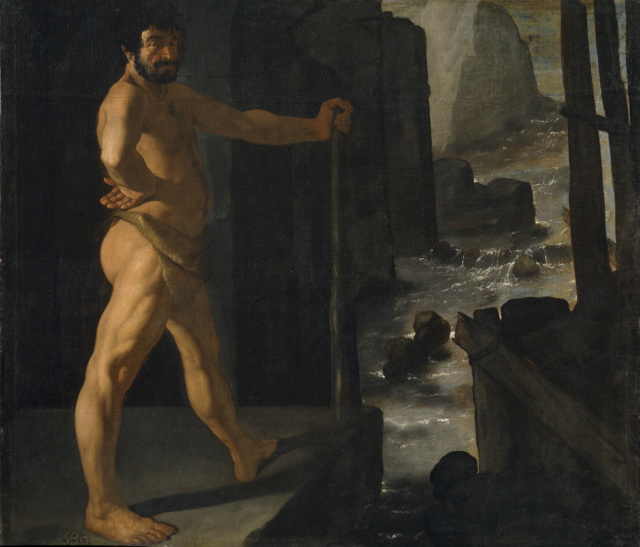 Hércules desvía el curso del río Alfeo- Zurbarán Hzorcu11