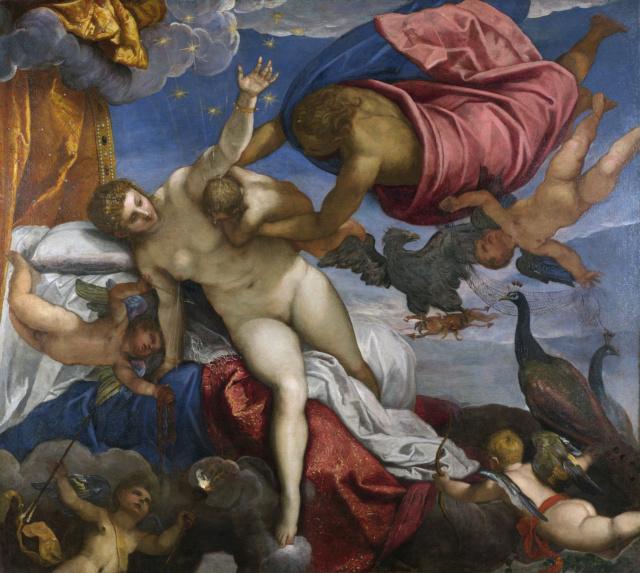 El origen de la Vía Láctea. Tintoretto Jacopo10