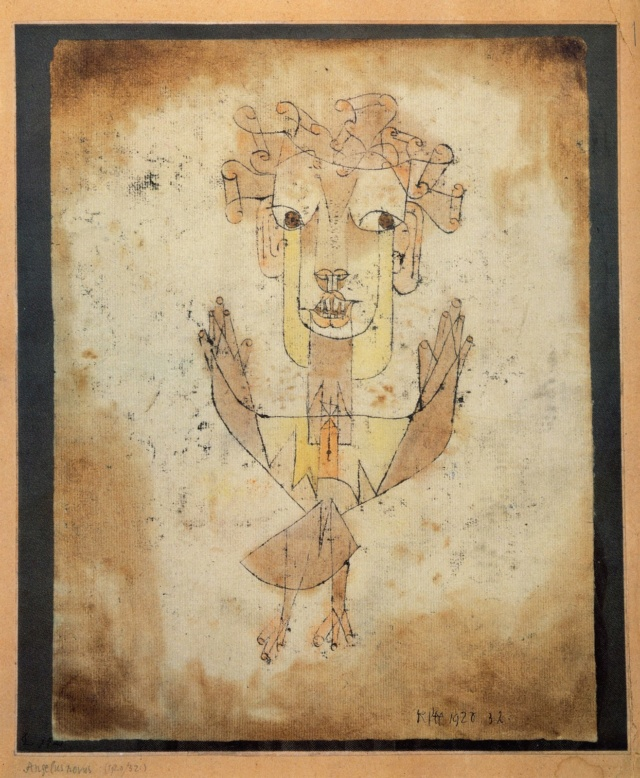 Angelus Novus - Klee Klee-a10