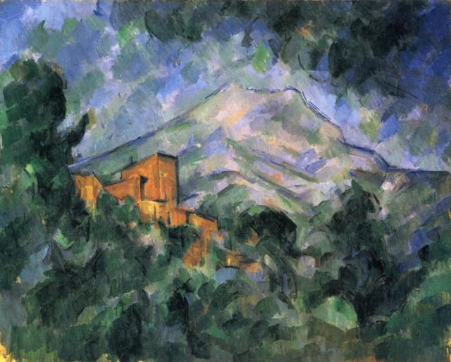 La Montagne Sainte- Paul Cézanne La_mon10