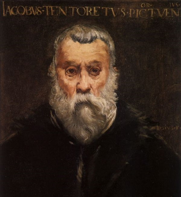 Retrato de Tintoretto. Edouard Manet  Mar04110