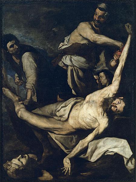 Martirio de San Bartolomé-Ribera Martyr10