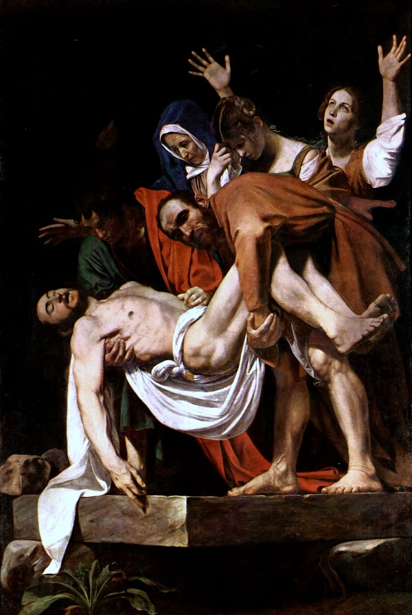 El Santo Entierro- Caravaggio Michel11