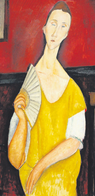 La Femme à l'Éventail-- Modigliani Modigl11