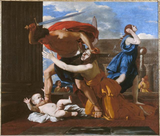 Matanza de los inocentes - Poussin Nicola11