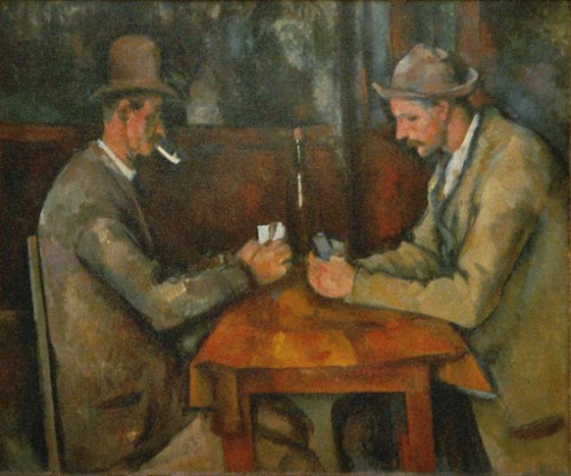 Los jugadores de cartas-Cézanne Paul_c10