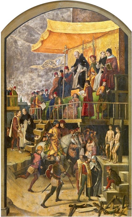 presidido por Santo Guzmán-Berruguete Pedro_10