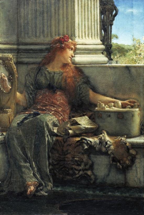 Poesía de Sir Lawrence Alma-Tadema Poesie10