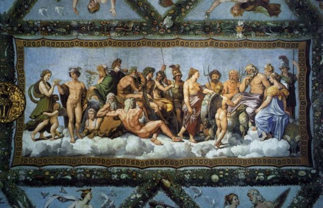 El consejo de los dioses--Rafael  Psyche11