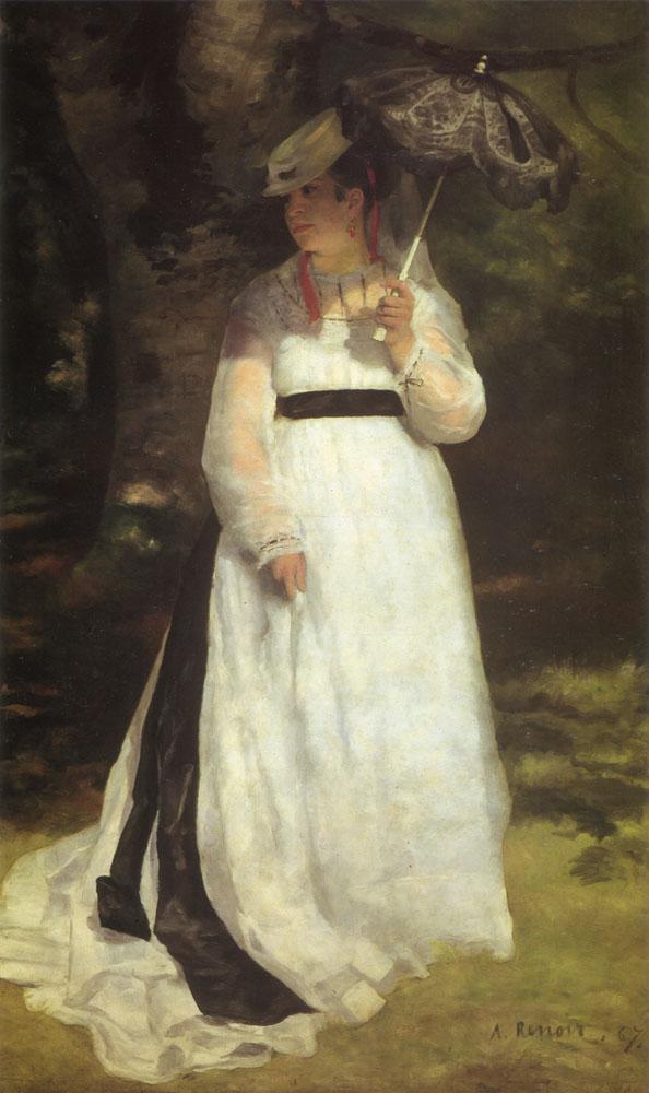 PIERRE-AUGUSTE RENOIR - LISE CON SOMBRILLA Renoir10