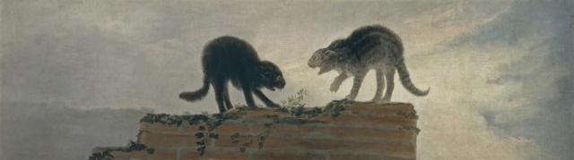 Riña de gatos o Los gatos. Francisco de Goya Riza_d11