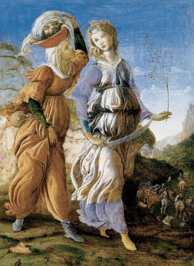 Regreso de Judith a Betulia de Sandro Botticelli Sandro10