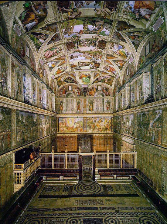 Frescos-Capilla Scrovegni -Capilla Sixtina-Capilla Brancacci Sistin10