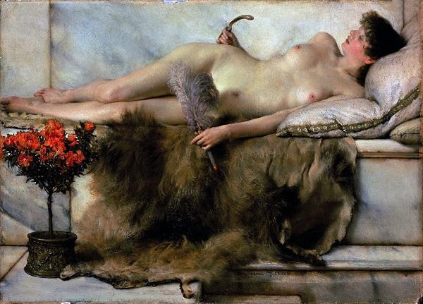 En el Tepidarium -Lawrence Alma Tadema Tepida10