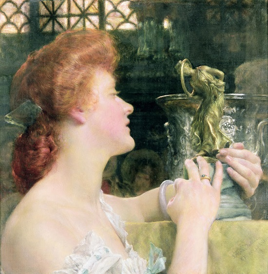 Golden Hour- Sir Lawrence Alma-Tadema The-go10