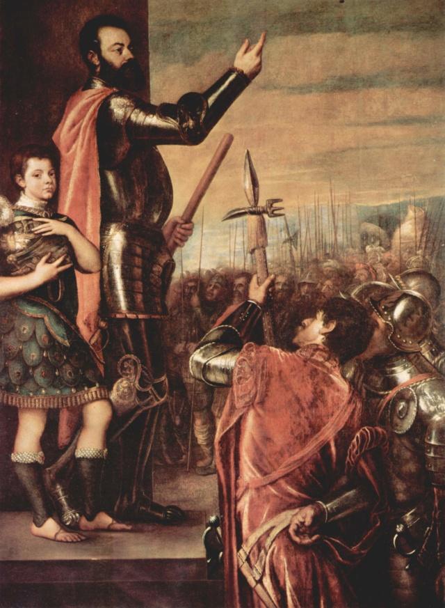 Alocución del Marqués del Vasto-Tiziano Tizian10