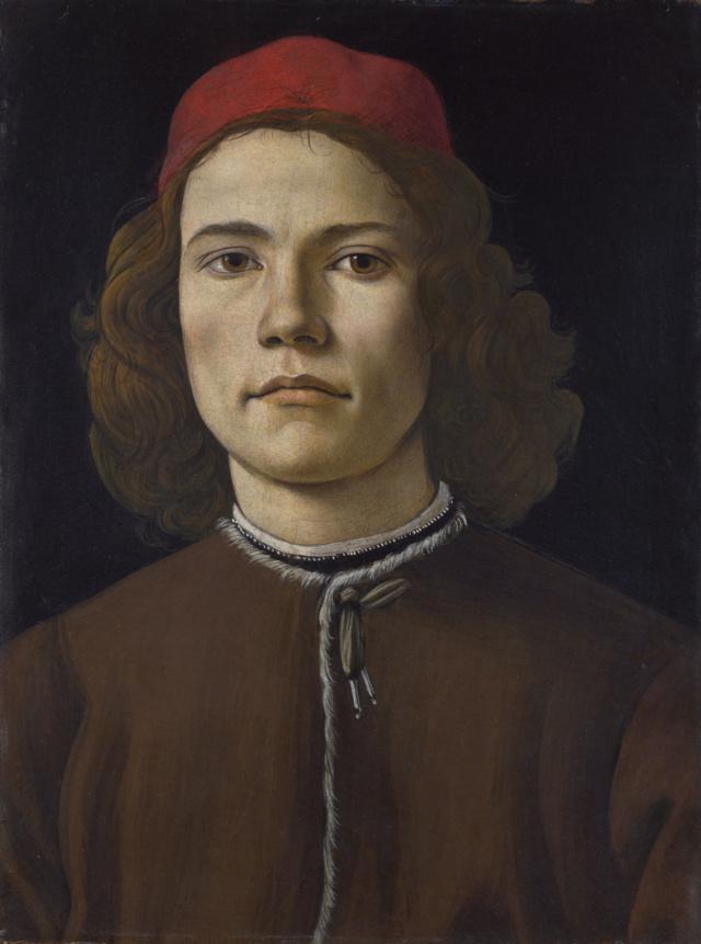 Retrato de joven. Sandro Botticelli Tumblr10