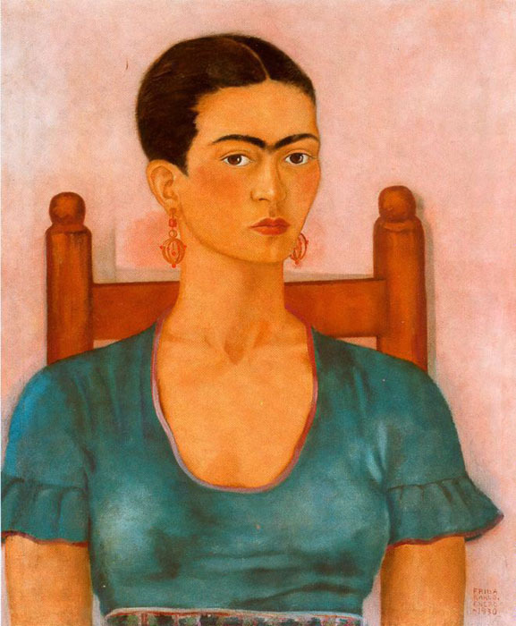 Autorretrato 1930-Frida Kahlo Tumblr11