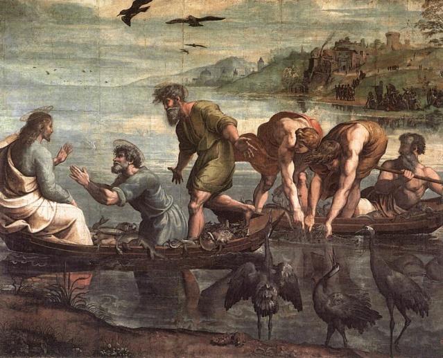 La Pesca Milagrosa-Rafael Sanzio Va_rap10