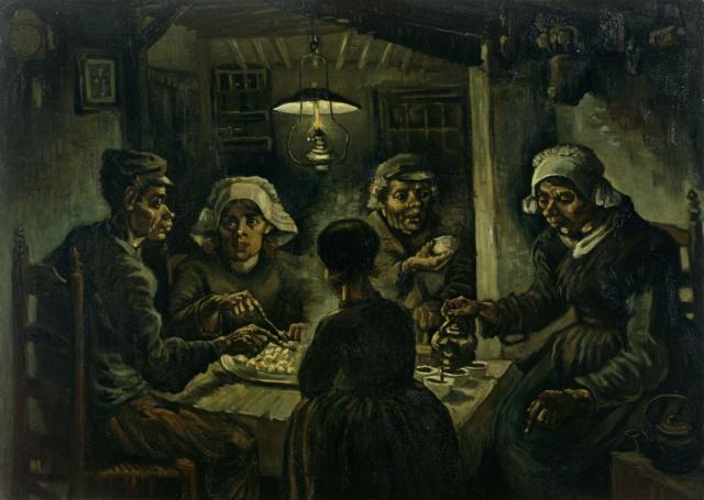 Los comedores de patatas Vincent Van Gogh Van-wi10