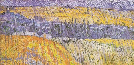 Paisaje en Auvers bajo la lluvia, Van Gogh Van_go10