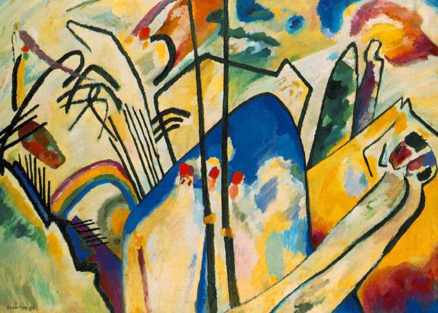 Composición IV. Vassily Kandinsky Vassil10