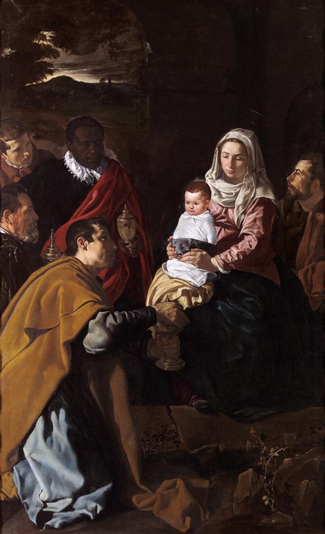 Adoración de los Magos de Diego Velázquez  Velzez11