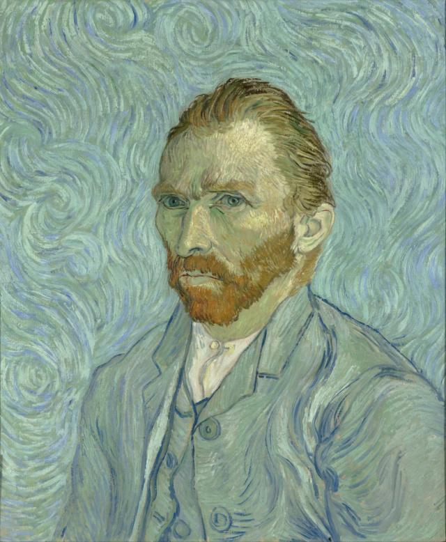 Autorretrato - Vincent Van Gogh Vincen10