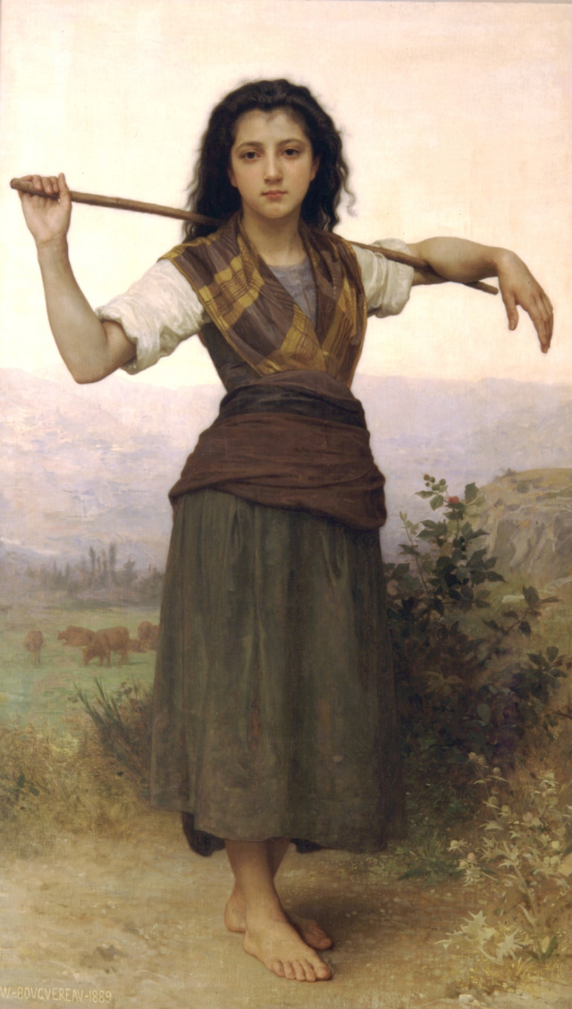 La Pastora--Bouguereau Willia13