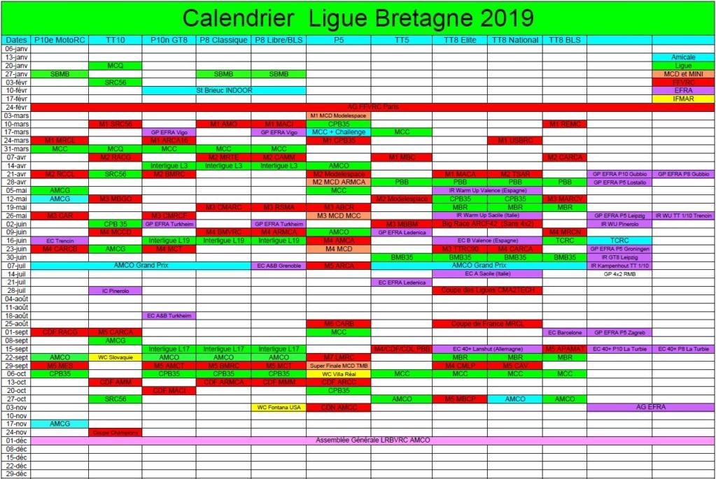 Calendrier 2019 Ligue BRETAGNE Captur10