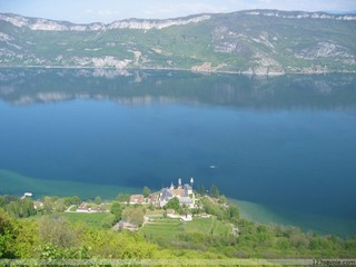 Région Rhone-Alpes, département Savoie, ville Aix-les-Bains Abbaye10
