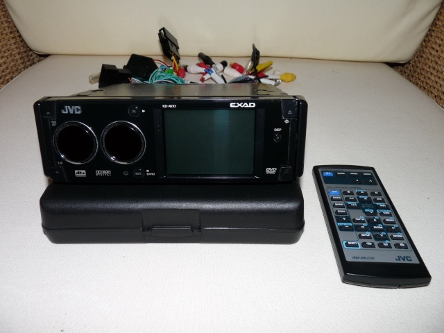 Autoradio JVC KD-AVX1 DVD/GIGA MP3 P1000538
