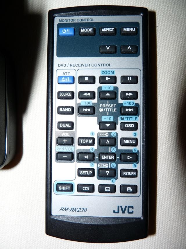 Autoradio JVC KD-AVX1 DVD/GIGA MP3 P1000539