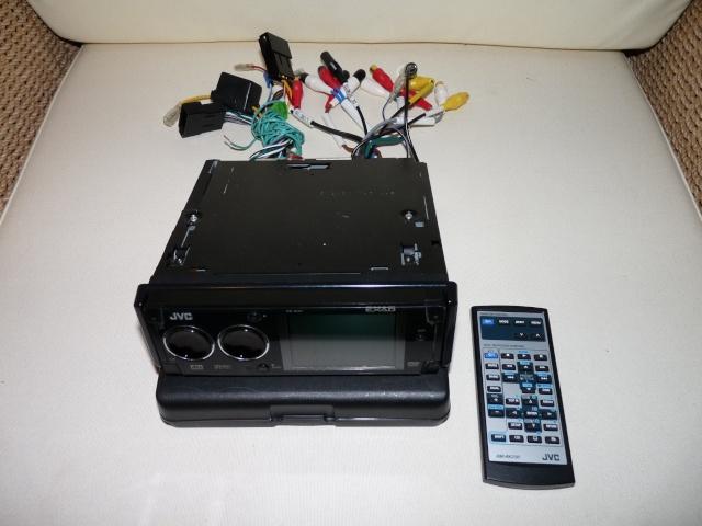 Autoradio JVC KD-AVX1 DVD/GIGA MP3 P1000540