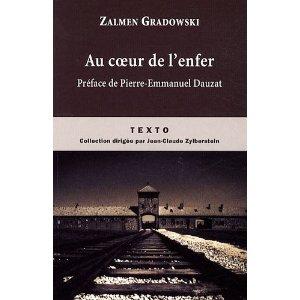 AU COEUR DE L'ENFER de Zalmen Gradowski 51ki1j10