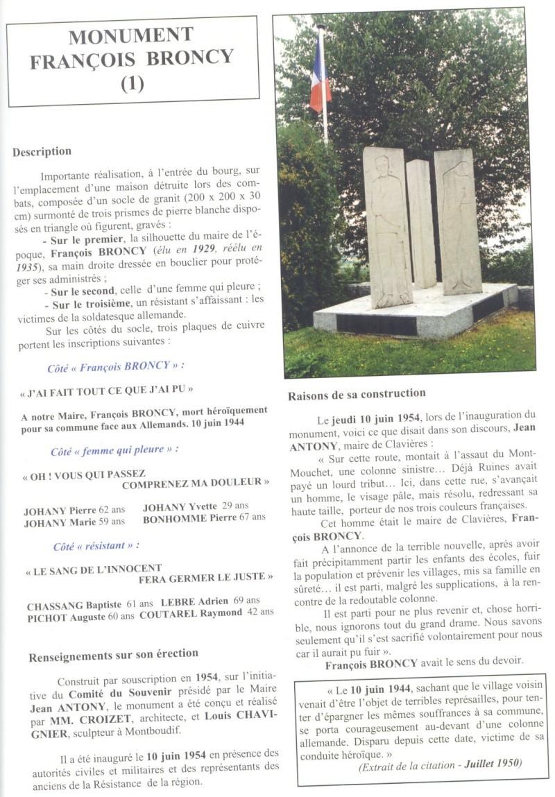 Le MONT-MOUCHET, haut lieu de la Résistance - Page 2 Clavie11