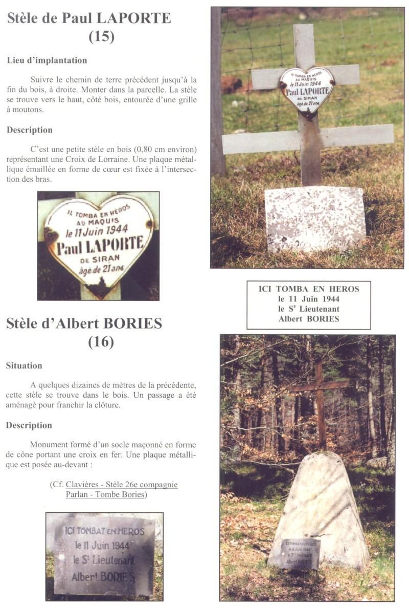 Le MONT-MOUCHET, haut lieu de la Résistance - Page 2 Clavie23