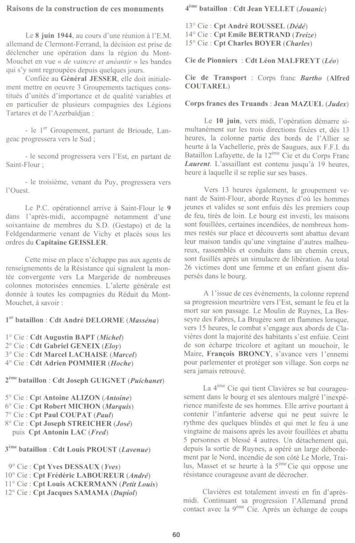 Le MONT-MOUCHET, haut lieu de la Résistance - Page 2 Clavie25