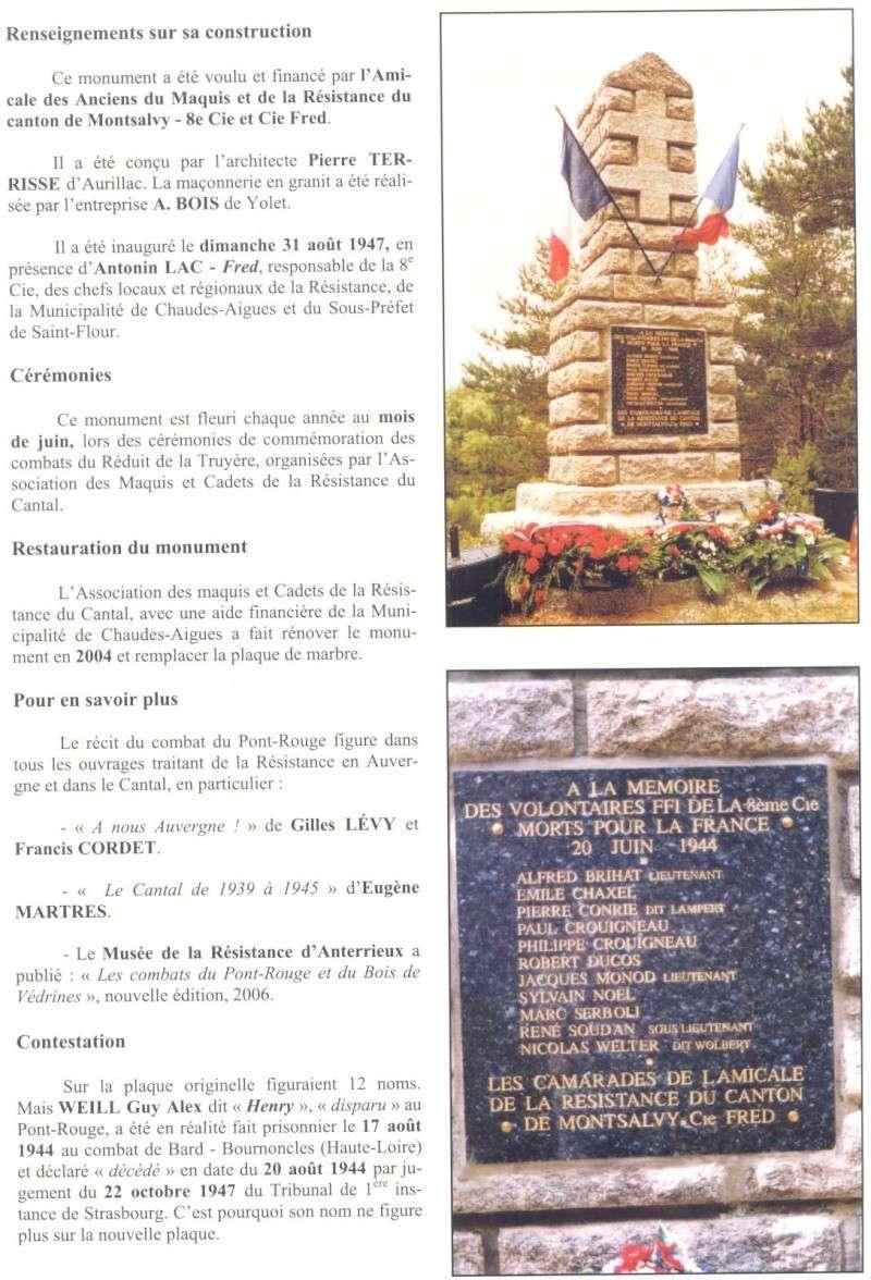 Le MONT-MOUCHET, haut lieu de la Résistance - Page 2 Reduit24