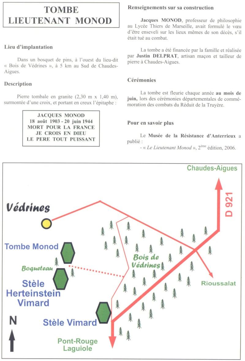 Le MONT-MOUCHET, haut lieu de la Résistance - Page 2 Reduit26