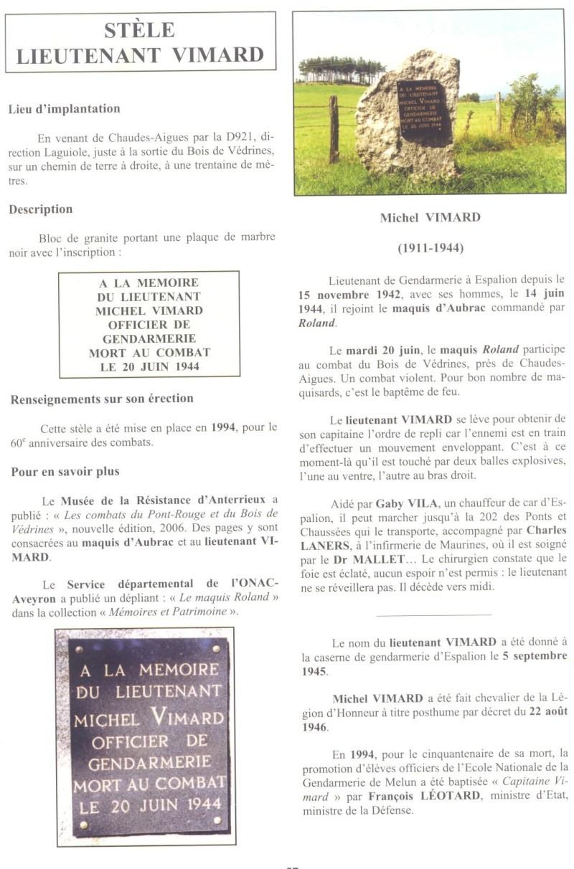 Le MONT-MOUCHET, haut lieu de la Résistance - Page 2 Reduit29